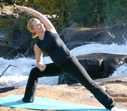 ... such as Happy Yoga from The Television Syndication Company and